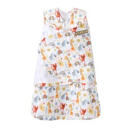 HALO SleepSack Swaddle Yellow Jungle Pals, Small
