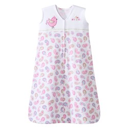 HALO SleepSack Wearable Blanket Pretty Pink Paisley, Small