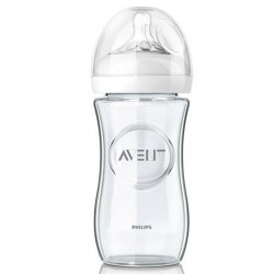 AVENT Natural Glass Bottle 8 oz (1 Bottle)