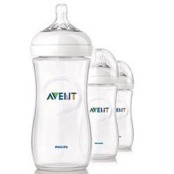 AVENT Natural 11 oz Bottle, 3 Bottle Pack