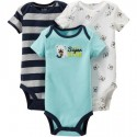Child of Mine by Carter's Bodysuits 3 Pack, Baby Boy