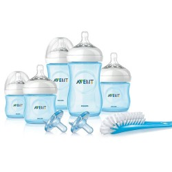AVENT Natural Blue Infant Starter Set, Boy