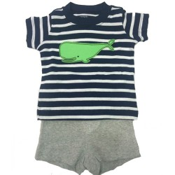 Carter's romper & Shorts Set