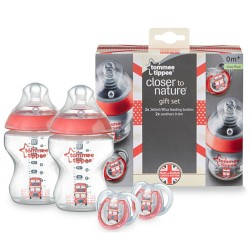 Tommee Tippee Closer To Nature Royal Baby Gift Pack - Red