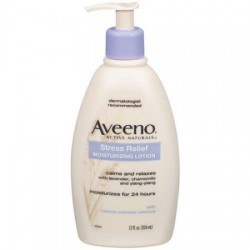 Aveeno Stress-Relief Moisturizing Lotion Body Moisture, 12 oz