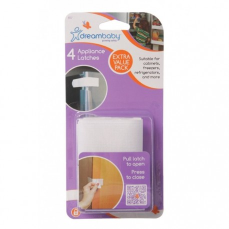 Dreambaby Appliance Latches 4 Pack