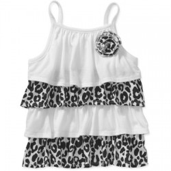 Garanimals Baby Toddler Girl Printed Tier Tank