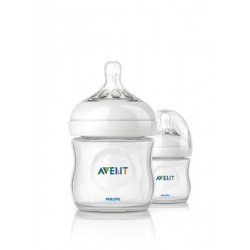 AVENT Natural 4 oz Cloudy (2 Bottle Pack)