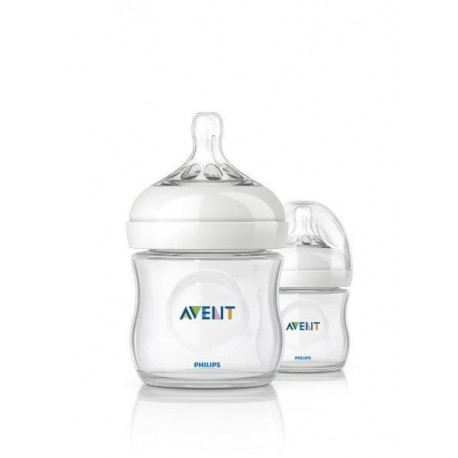 AVENT Natural Bottle 4 oz (2 Bottle Pack)