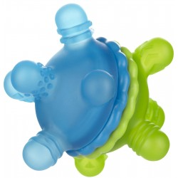 Munchkin Twisty Teether Ball - Blue Green