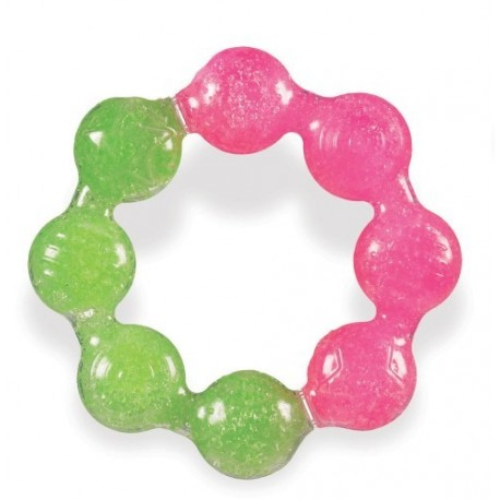 Munchkin Fun Ice Ring Teether - Pink Green