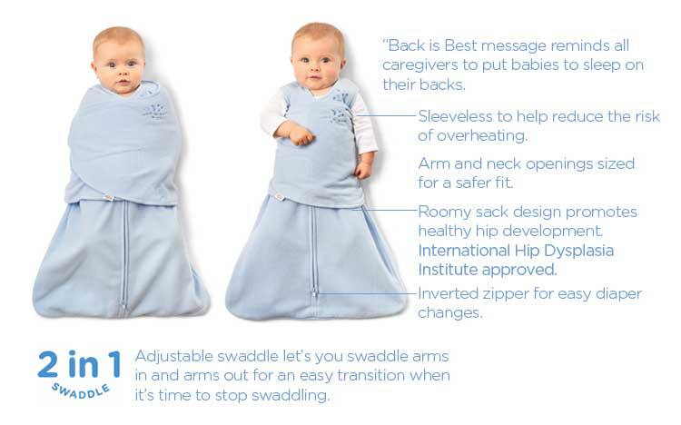 HALO® SleepSack® Swaddle: The Safer Way to Swaddle™