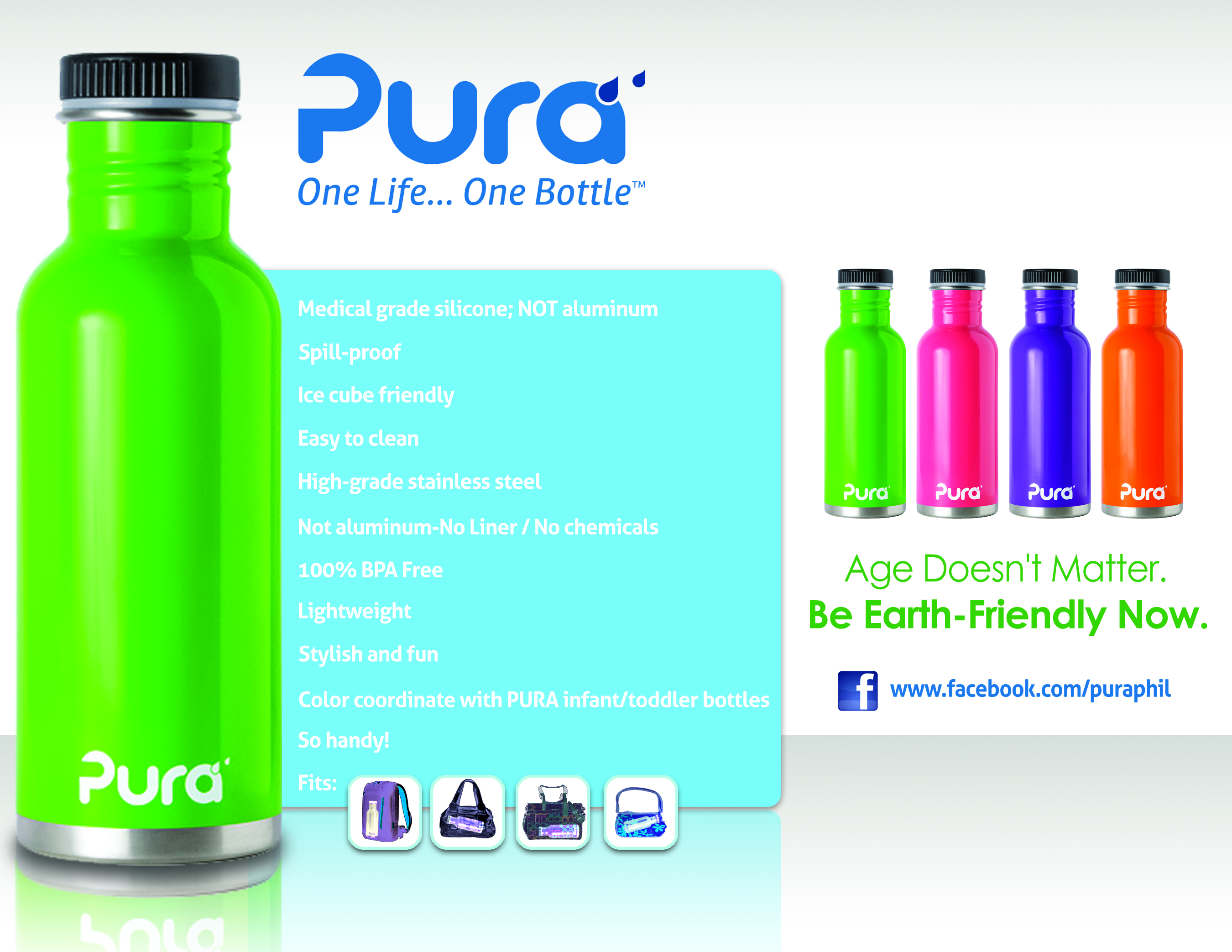 Baby Outlet Pura Kiki Adult bottles