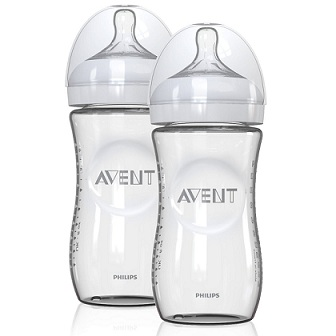 Avent Natural glass bottles