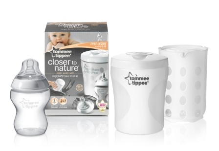 tommee tippee single bottle sterilizer
